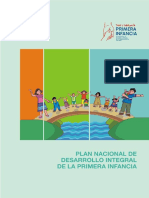 Plan Nacional de Primera Infancia PY