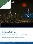 Reviving Antitrust