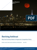 Reviving Antitrust