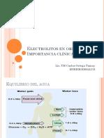 Electrolitos en Orina -IC