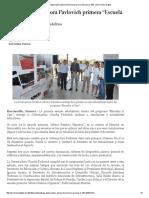 """03-06-16 Entrega Gobernadora Pavlovich primera """"Escuela al 100"""". -Hermosillo Digital"""