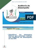 AUD Auditoria Al Desempeño en La Cámara de Diputados CASO