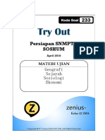 Master-Try-Out 2 Intensif Soshum SMA