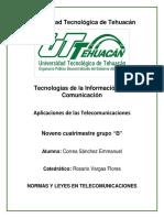 Normas telecomunicaciones