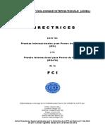 Reglamentos FCI - IPO 2012.