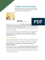 Las Propiedades Curativas del Limón.docx