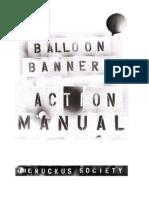 Balloon Banner Manual ~ Ruckus Society
