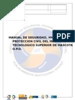Manual de Seguridad, Higiene y Proteccion Civil ITSMASCOTA.docx