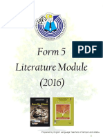 Literature Module Form 5