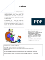 La Anécdota Guía de aprendizaje