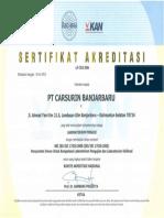 LP 353 IDN Banjarbaru (Certificate)(1)