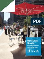 World Class Streets