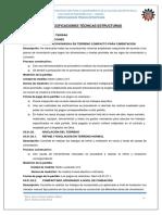 03. Especificaciones Técnicas Estructuras (50-75)