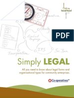 11. Simply Legal - A guide to social enterprise structures ~ Making Local Food Work, Social Business Toolbox
