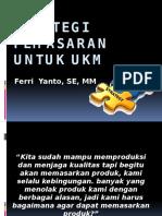 Seminar PNPM Strategi Pemasaran Untuk UKM