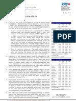 Market Update - Market Momentum - Pick and Choose - 21/5/2010