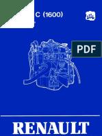 [RENAULT] Manual de Reparacion Motor C 1600