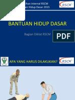 Bantuan Hidup Dasar 2015