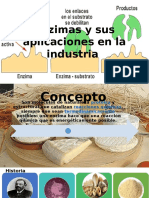 Enzimas y Sus Aplicaciones en La Industria