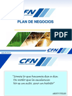 Presentacion Plan de Negocios Cfn