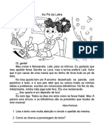 AO PÉ DA LETRA -  3º ANO LEILA.doc