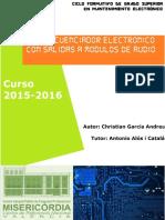 Proyecto Secuenciador16pasos Christian García