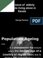 Kerala Ageing