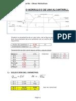 Diseno de Alcantarilla Excel