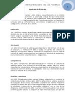 27. Contrato de Arbitraje en El Nuevo Cód. Civil y Comercial.