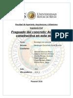 NTP.fraguado Del Concreto Word