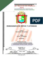 Monografia de Mitos y Leyendas