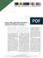 El Problema Con El Paternalismo de Incentivos en Salud - H. Schmidt, K. Voigt y D. Wikler