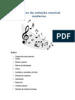 Símbolos Da Notação Musical Moderna