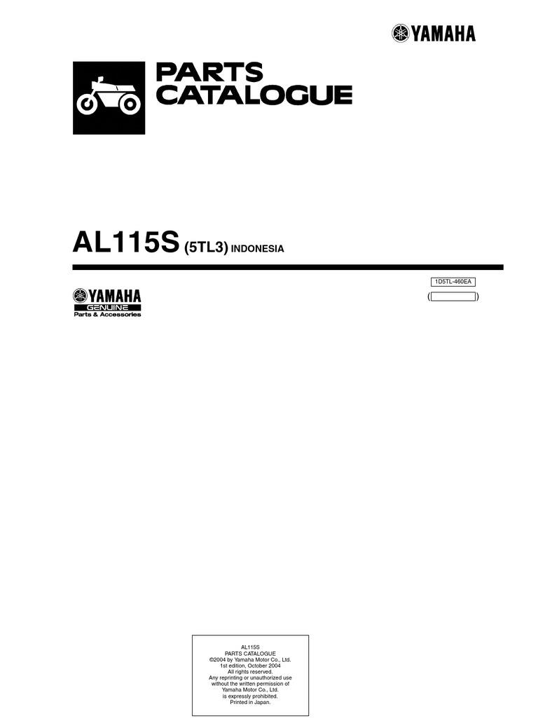 Mio Sporty Catalog Parts