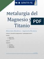 Metalurigia de Magnesio y Titanio (1)