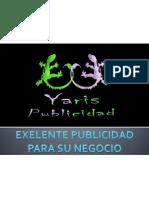 YARIS PUBLICIDAD