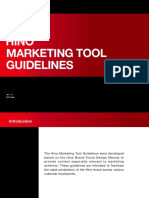 Hino Marketing Tool Guidelines