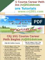 CRJ 201 Course Career Path Begins Crj201dotcom