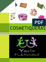 YARIS PUBLICIDAD COSMETIQUERAS