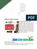 Alpha Beta Testing123