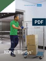 Brochure Kone Elevator Transys