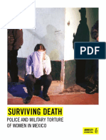 Surviving Death. Police and Military Torture of Women in Mexico