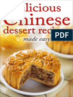 Delicious Chinese Dessert Recipes
