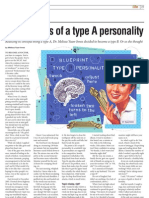 Confessions of a Type A Personality