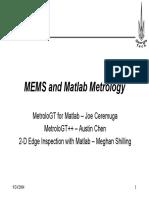 MEMS and Matlab Metrology - Joe_Austin_Meghan_IAB