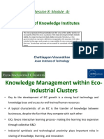Role of Knowledge Institutes