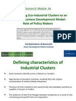 Transforming Eco-Industrial Clusters to an Inclusive Business Development Model