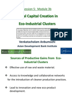 Social Capital Creation in Eco-Industrial Clusters