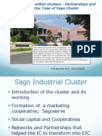 Doing business within clusters - Partnerships and networks; Case of Sago Cluster