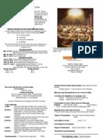 Hope Bulletin May 23
